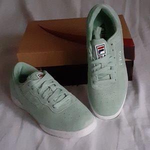 Womens Fila Original Fitness Premium Shoes